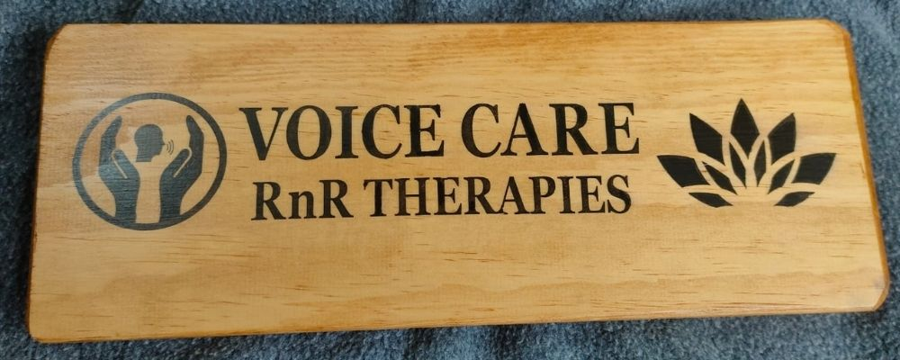 Voice Care's new sign at Class Act Studios in Chepsto